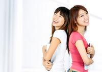 Asian uni students