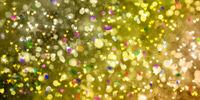weihnachten lichter bokeh konfetti karte