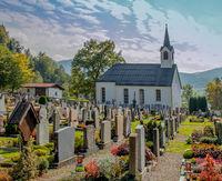 Friedhof mit Kapelle St. Martin Oberstaufen