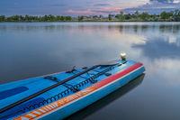 navigational lights on stand up paddleboard