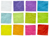 set of colorful sticky reminder notes