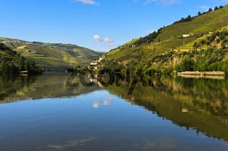 Der Fluss Douro bei Pinhao,  Douro Tal, Portugal