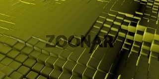 Isometric Cube Structure Abstract Background