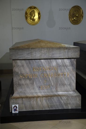 Sarg von Königin Sophie Charlotte,  Hohenzollern Gruft,  Berline