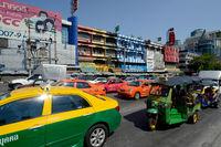 THAILAND BANGKOK PRATUNAM SKYLINE STREET