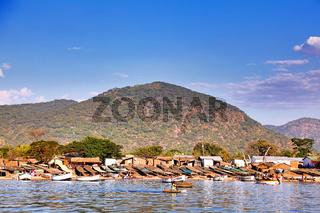 Leben am Malawisee, Cape Mc Clear, Malawi | Life at Lake Malawi, Cape Mc Clear, Malawi