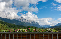 Karwendel mountains in Bavaria