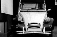 Alter Citroën 2CV Oldtimer