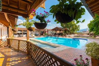 pool Hotel Caseron Plaza Santa Fe in Antioquia Colombia