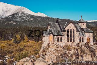 Chapel on the Rock near Estes Park in Colorado