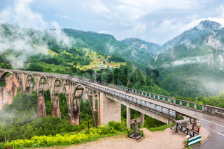 Dzhurdzhevich Bridge Montenegro