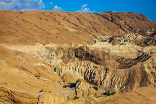 Dry ancient mountains