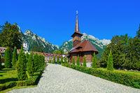 Monastery in Busteni