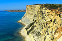 Felsige Steilküste bei Luz