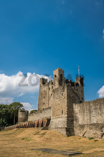 Ruins of the 12th-century Rochester Castle