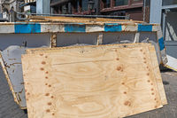 Plywood Board Skip