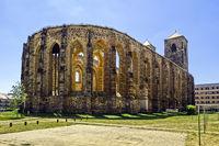 Ruine Kirche Sankt Nikolai, Zerbst/Anhalt, Sachsen-Anhalt, Deutschland