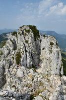 Aufsteig zur Kampenwand, Chiemgauer-Alpen, Bayern, Deutschl