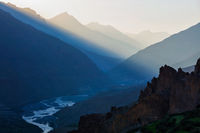 Spiti valley , Himachal Pradesh, India
