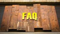 Street Sign to FAQ