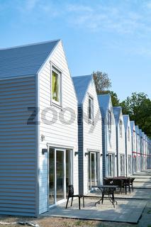 neu gebaute Ferienhäuser in Polen