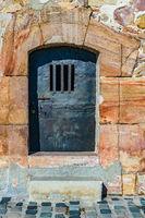 Dungeon Door Jail, Montjuic Castle Barcelona