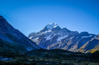 Aoraki Mount Cook landscape, New Zealand