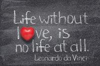 life love Da Vinci
