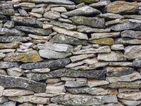 Limestone Wall Full Frame Image