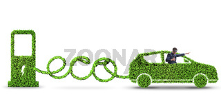 Eco friendly car powered by alternative energy