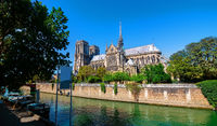 Majestic cathedral Notre Dame
