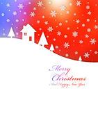 Merry Christmas rainbow card