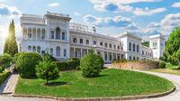 Livadia Palace in beautiful summer Yalta, Crimea