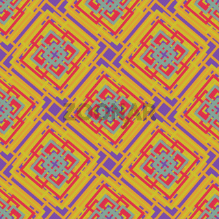 Seamless Abstract Pattern from Rectangle Intersections