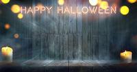 Halloween misty room
