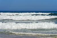Wellengang an der Costa Vicentina Küste