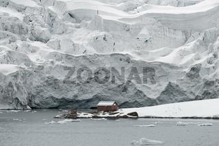 Almirante Brown Station, Argentine Antarctic Base And Scientific Research Station, Paradise Harbor, Danco Coast, Antarctica