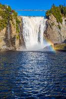 Montmorency Falls Park, in Quebec