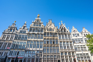 Guildhalls of Antwerp the famous place in Antwerp, Belgium