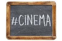 cinema hashtag