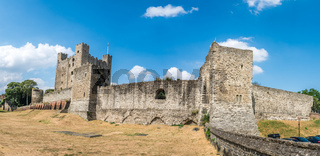 Panorama of the Rochester Castle