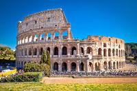 Colosseum of Rome scenic view