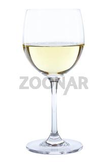 Weinglas Wein Glas Weißwein Weisswein weiß weiss freigestellt Freisteller