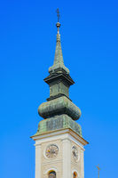 The spire of Cathedral of St. John the Baptist