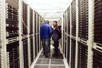 System administrators in the corridor are the data center.
