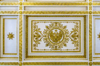 Decoration, Large Throne Room, The Hermitage St. Petersburg Russia