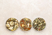 Chinese herbal blend tea collection
