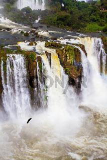 Iguazu on the border of three countries