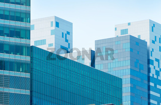 Singapore modern financial architecture