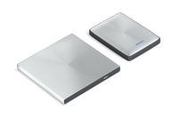 Portable optical disc drive and hard drive